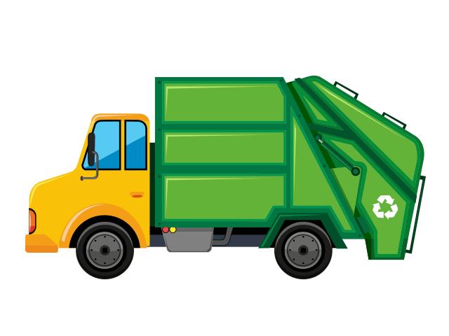 Ramassage des ordures ménagères à la Sablonnière et la Chevrière