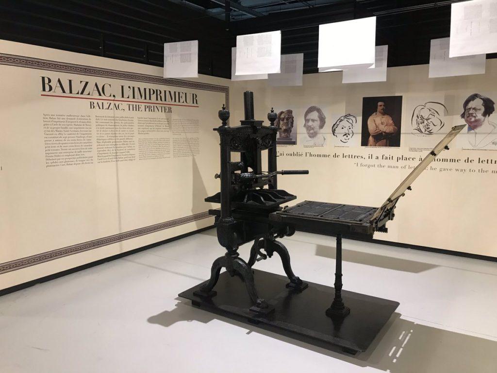 L'imprimerie au temps de Balzac