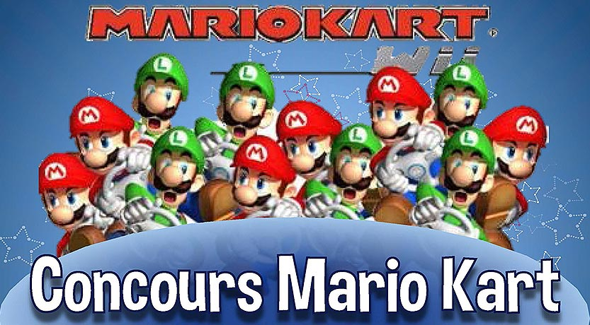 Concours Mario Kart 2020