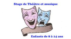 ANNULATION Stage de Théâtre et Musique 2020