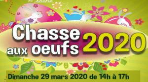 ANNULATION Chasse aux œufs 29 mars 2020