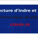 COMMUNIQUÉS DE PRESSE DE LA PRÉFECTURE D'INDRE ET LOIRE