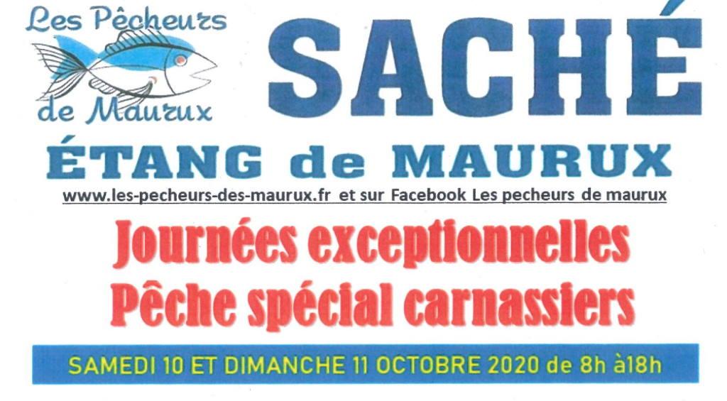 Read more about the article ÉTANG DE MAURUX : JOURNÉES PÊCHE AUX CARNASSIERS