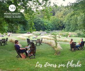 Read more about the article LES DÎNERS SUR L'HERBE AU MUSÉE BALZAC